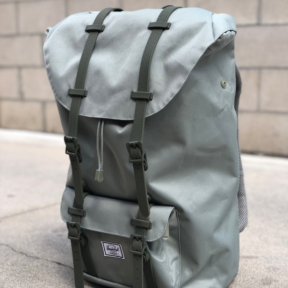 e3c511c37f Herschel Lil America Backpack Shadow   Beetle